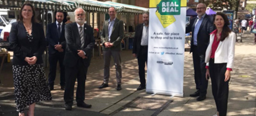 NuL BID congratulates town centre market on becoming the 'Real Deal'