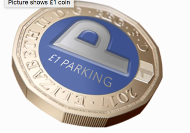 Parking in NUL is £1 after 1pm
