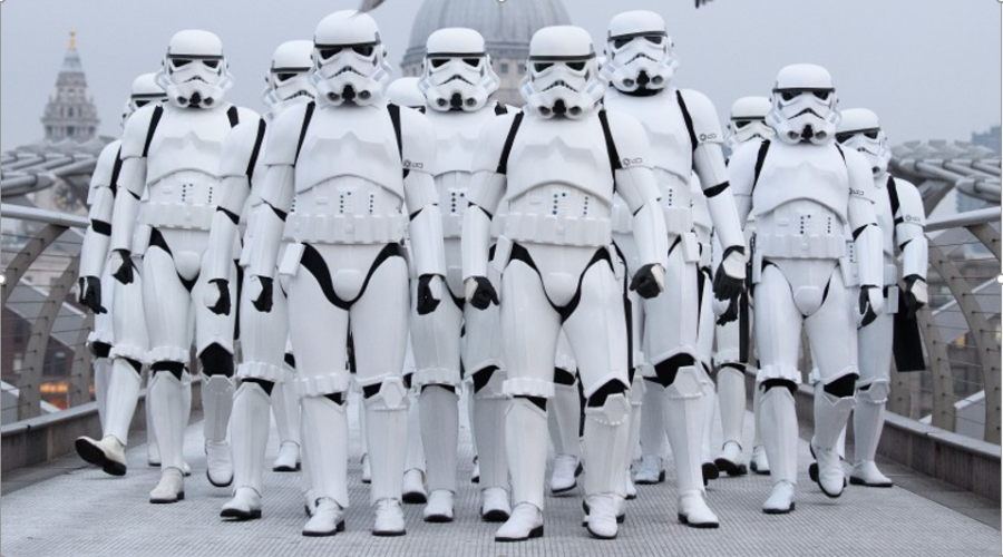 Storm Troopers come to NUL